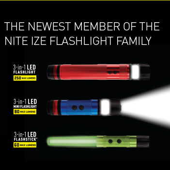 3-in-1 Flashlights